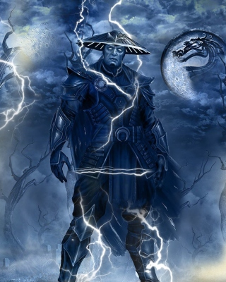 Free Raiden Mortal Kombat Picture for Nokia C1-01