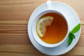 Tea With Lemon Wallpaper for Android, iPhone and iPad