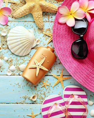 Marine Still Life and Accessories Background for Nokia C1-01