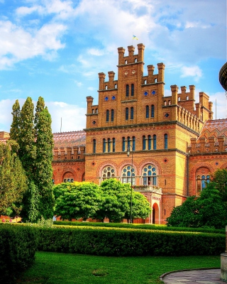 Free Chernivtsi University Castle Picture for 480x800