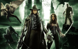 Van Helsing Background for 320x240