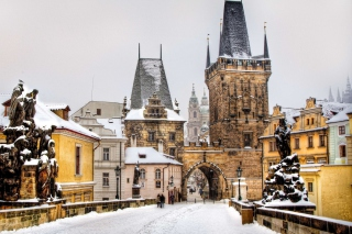 Free Winter In Prague Picture for Android, iPhone and iPad