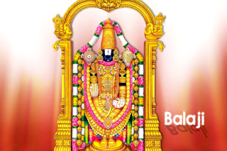Balaji or Venkateswara God Vishnu Wallpaper for Widescreen Desktop PC 1280x800
