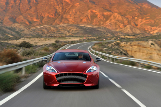 Aston Martin Rapide Grand Tourer Background for Samsung Galaxy Note 4