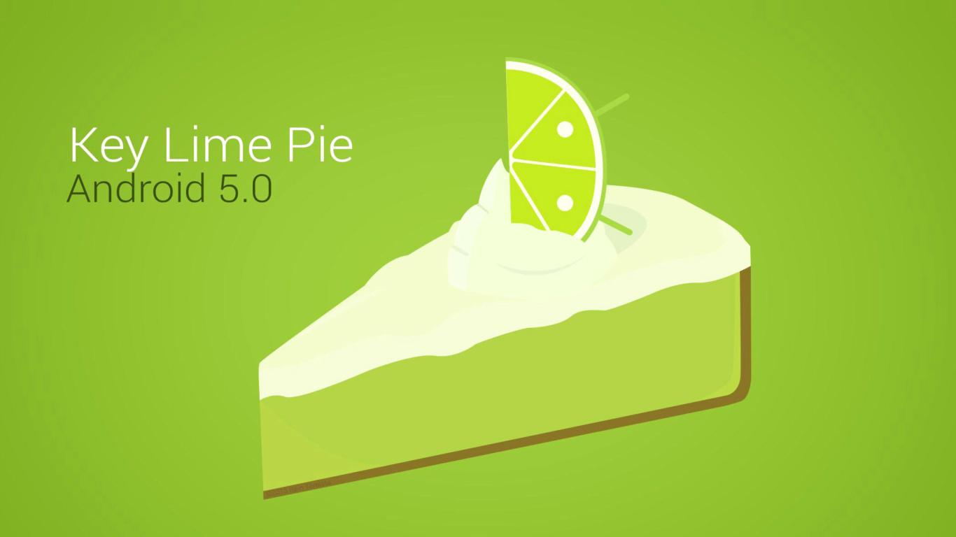 Screenshot №1 pro téma Concept Android 5.0 Key Lime Pie 1366x768