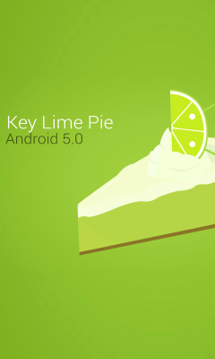 Screenshot №1 pro téma Concept Android 5.0 Key Lime Pie 240x400