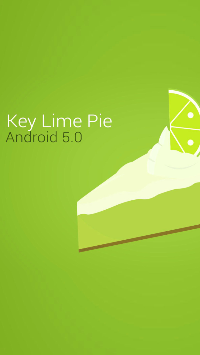 Screenshot №1 pro téma Concept Android 5.0 Key Lime Pie 640x1136
