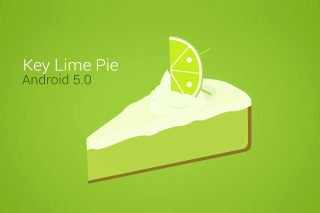 Concept Android 5.0 Key Lime Pie Background for Android, iPhone and iPad