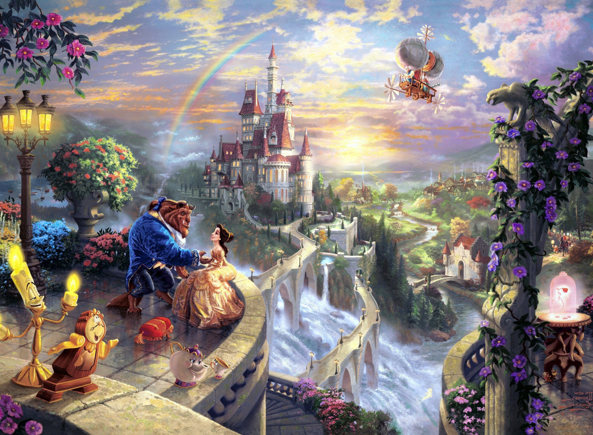 Screenshot №1 pro téma Beauty and the Beast 1920x1408