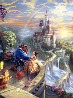 Screenshot №1 pro téma Beauty and the Beast 240x320