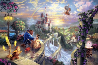Kostenloses Beauty and the Beast Wallpaper für Android, iPhone und iPad