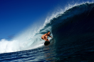 Big Wave Surfing Girl - Fondos de pantalla gratis