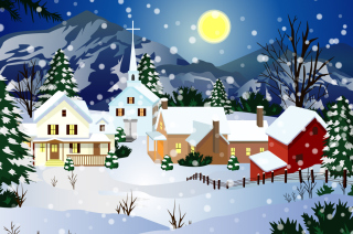 Christmas Wallpaper Background for Android, iPhone and iPad