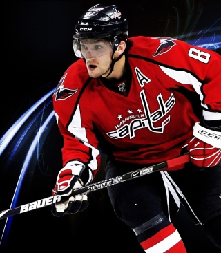 Alexander Ovechkin - Ice Hockey Player papel de parede para celular para iPhone 5S