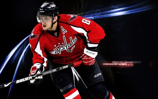 Alexander Ovechkin - Ice Hockey Player Picture for Android, iPhone and iPad