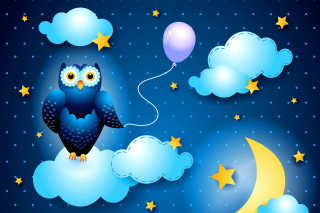 Night Owl Background for Desktop 1280x720 HDTV