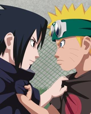 Naruto Vs Sasuke Figth Picture for Nokia Asha 311