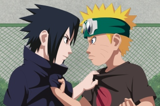 Naruto Vs Sasuke Figth sfondi gratuiti per cellulari Android, iPhone, iPad e desktop