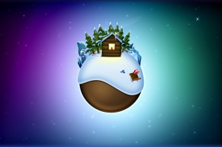 Christmas On Earth Wallpaper for Android, iPhone and iPad
