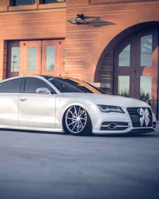 Audi A7 Vossen Tuning Wallpaper for 240x320