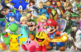 Super Smash Bros Background for Android, iPhone and iPad