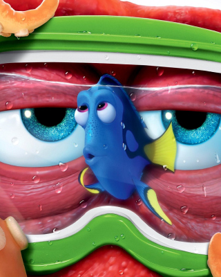 Finding Dory 3D Film and Nemo Fish sfondi gratuiti per iPhone 6 Plus