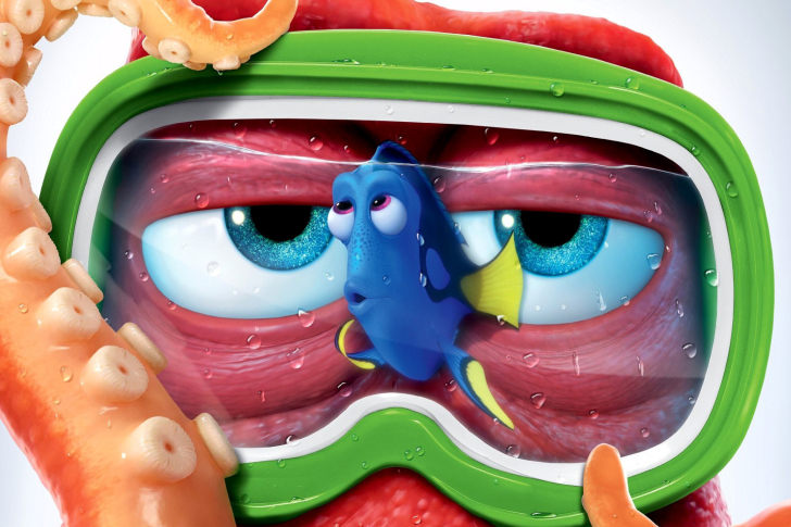 Finding Dory 3D Film and Nemo Fish wallpaper