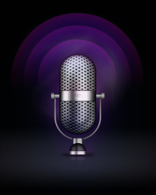 Microphone Wallpaper for Nokia C1-01