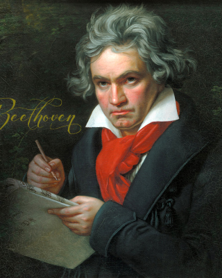 Free Ludwig Van Beethoven Picture for HTC Titan