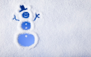 Winter, Snow And Snowman Wallpaper for Android, iPhone and iPad