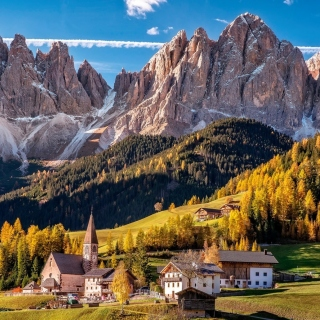 Villnoss South Tyrol sfondi gratuiti per iPad mini