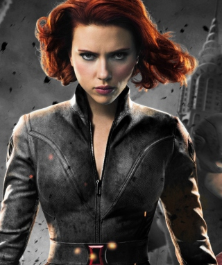 Black Widow - The Avengers 2012 Picture for Nokia Asha 310