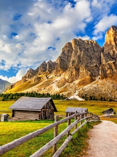 Screenshot №1 pro téma South Tyrol and Dolomites 240x320