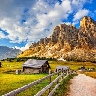 South Tyrol and Dolomites Wallpaper for iPad mini 2