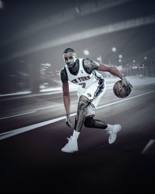 Kostenloses Carmelo Anthony from New York Knicks NBA Wallpaper für Nokia C3-01