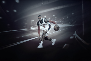 Carmelo Anthony from New York Knicks NBA - Fondos de pantalla gratis para Nokia Asha 210
