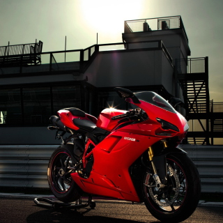 Bike Ducati 1198 Wallpaper for 2048x2048