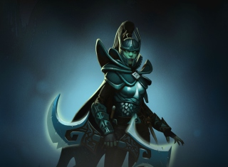 Phantom Assassin Dota 2 Background for Samsung Galaxy Ace 4