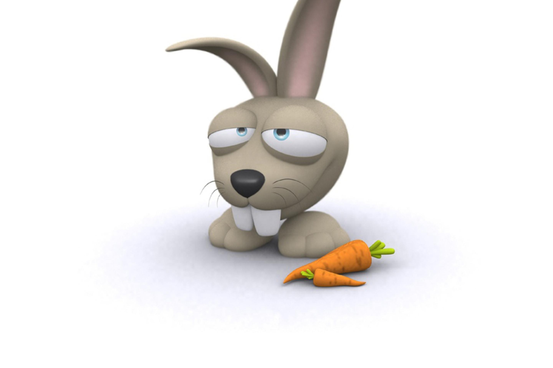 Прикольные картинка зайцев нет