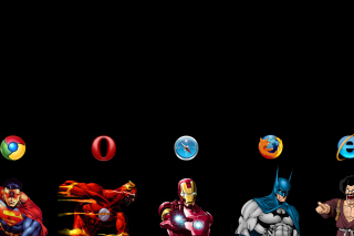 Browsers Chrome, Opera, Firefox, Safari Background for Android, iPhone and iPad