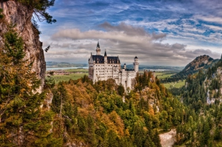 Bavaria Neuschwanstein Castle sfondi gratuiti per cellulari Android, iPhone, iPad e desktop