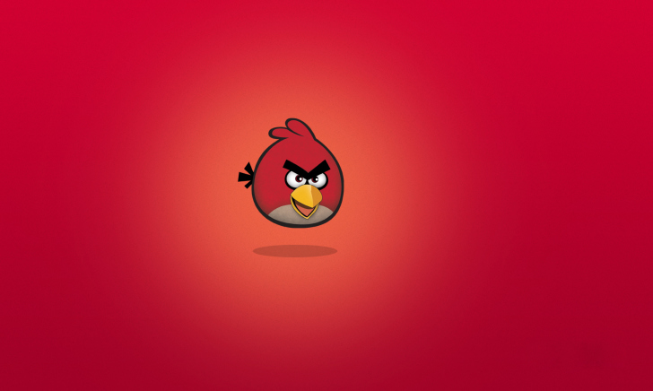 Screenshot №1 pro téma Angry Birds Red