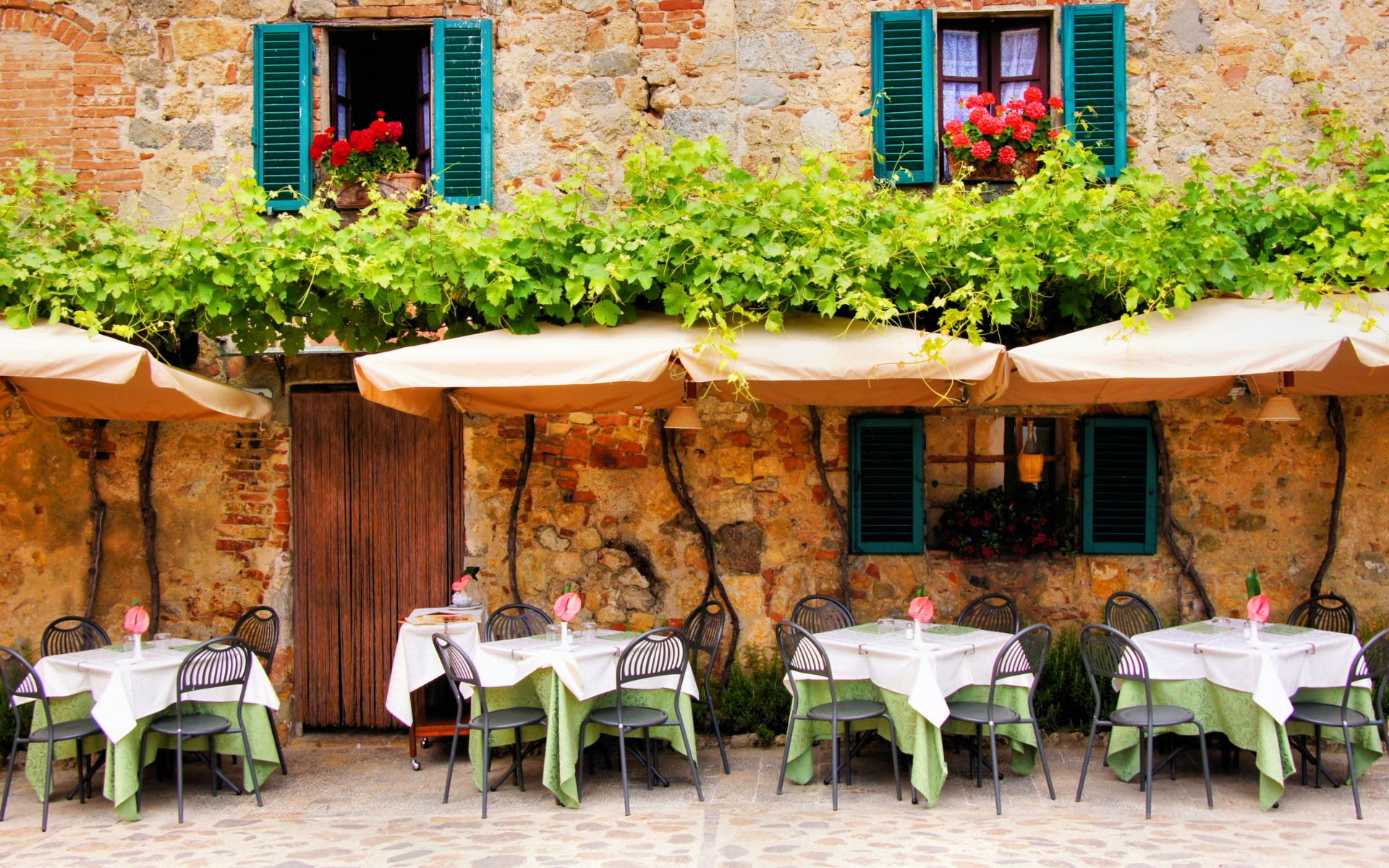 Tavern In Italy para Widescreen Desktop PC 1920x1080 Full HD