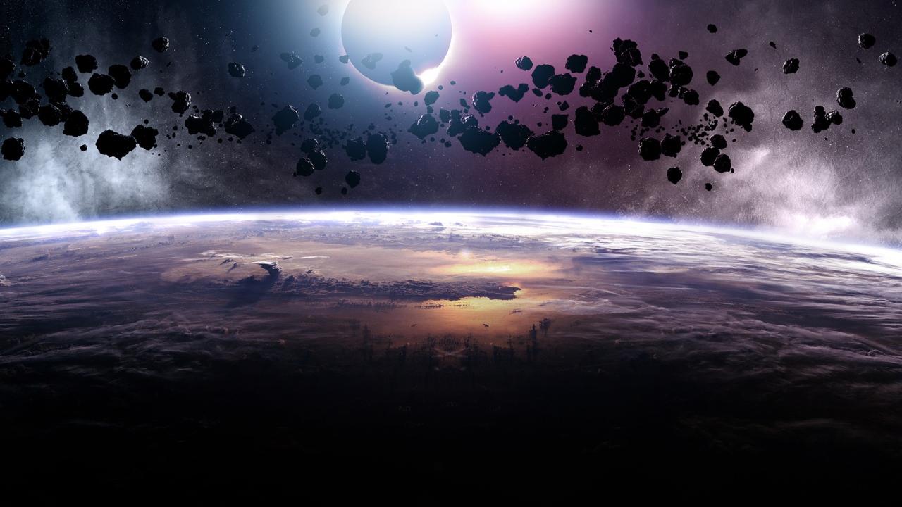 Asteroids Eclipse