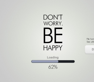 Don't Worry Be Happy papel de parede para celular para 128x128