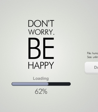 Don't Worry Be Happy - Fondos de pantalla gratis para Nokia Asha 311