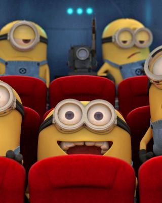 Despicable Me 2 in Cinema Background for HTC Titan