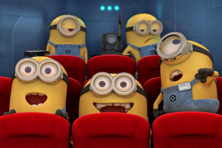 Despicable Me 2 in Cinema wallpaper