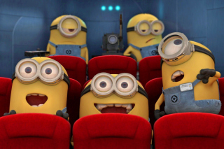 Despicable Me 2 in Cinema Wallpaper for 220x176
