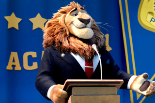 Zootopia Lion Background for Android, iPhone and iPad